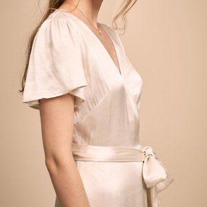 BHLDN Phoebe Wrap Dress